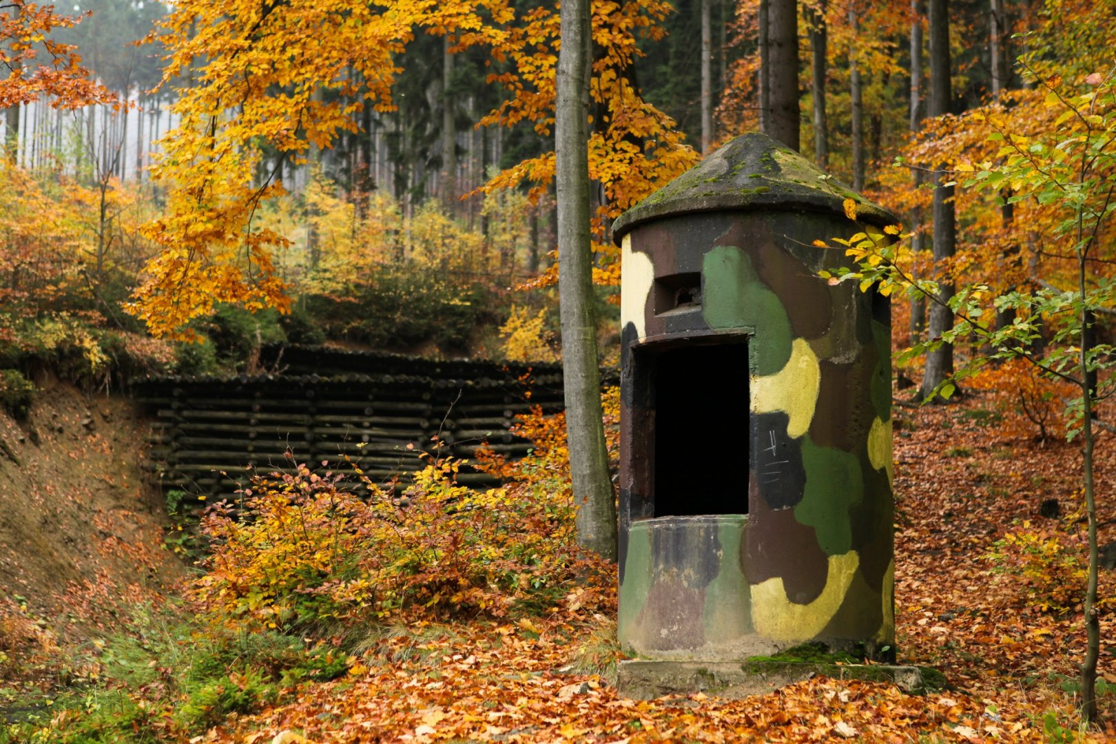 Historical and military attractions in Poland.