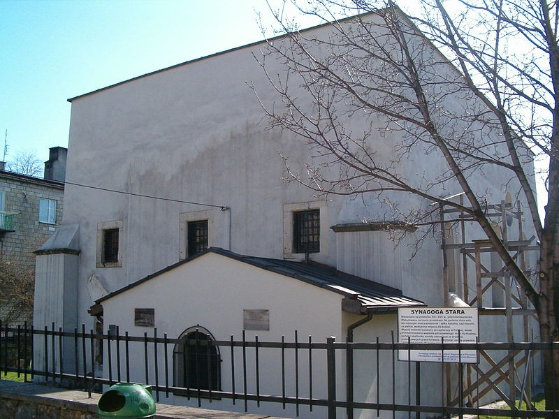 Pińczów synagogue