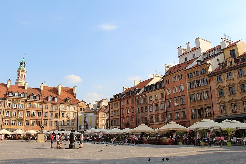 The Old Town Square in Warsaw