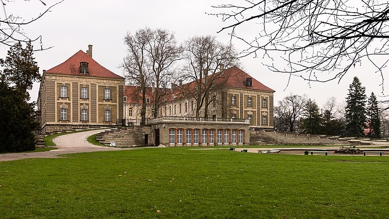 The Lobkowitzów Palace in Żagań