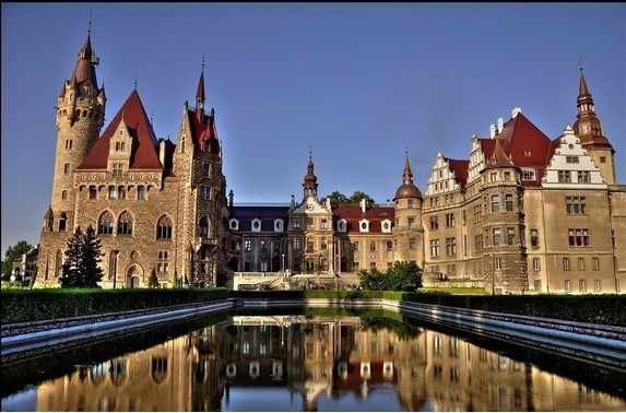 Castles and Palaces in Wrocław Area