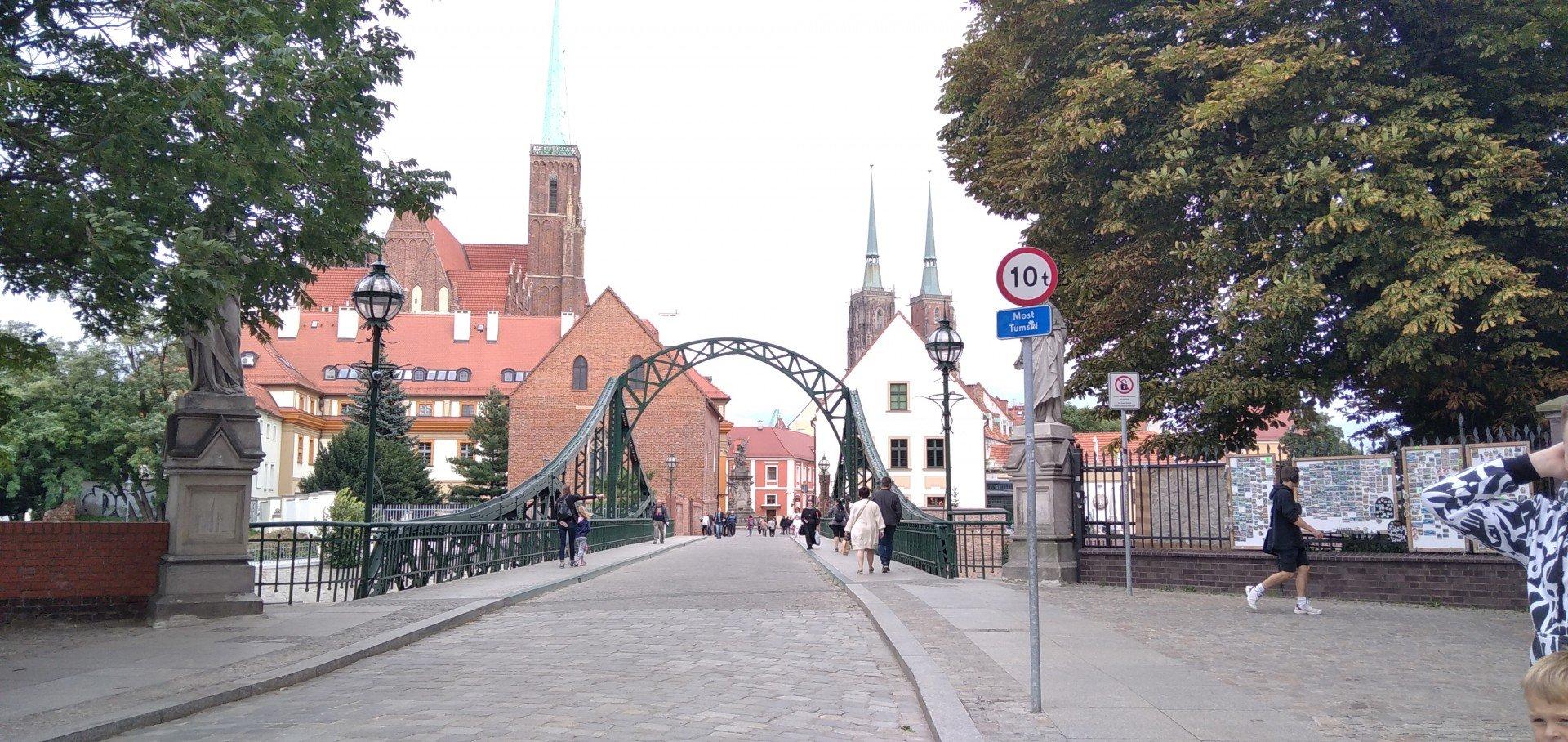 Ostrów Tumski, Wrocław