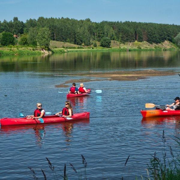 Kayaks in Gdańsk