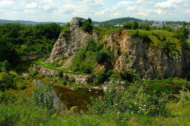 The Caves in Kadzielnia, Kielce