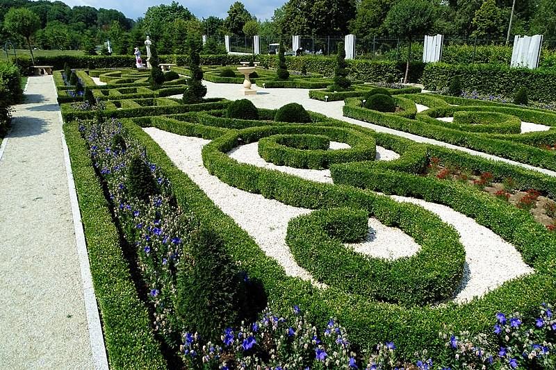 Botanical garden in Kielce