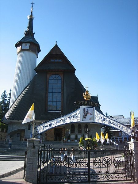 The Sanctuary of Our Lady of Fatima in Zakopane