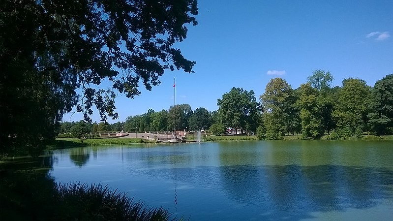 The Palace Park in Świerklaniec