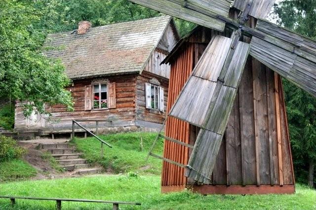 The Kurpiowski open-air museum in Nowogród