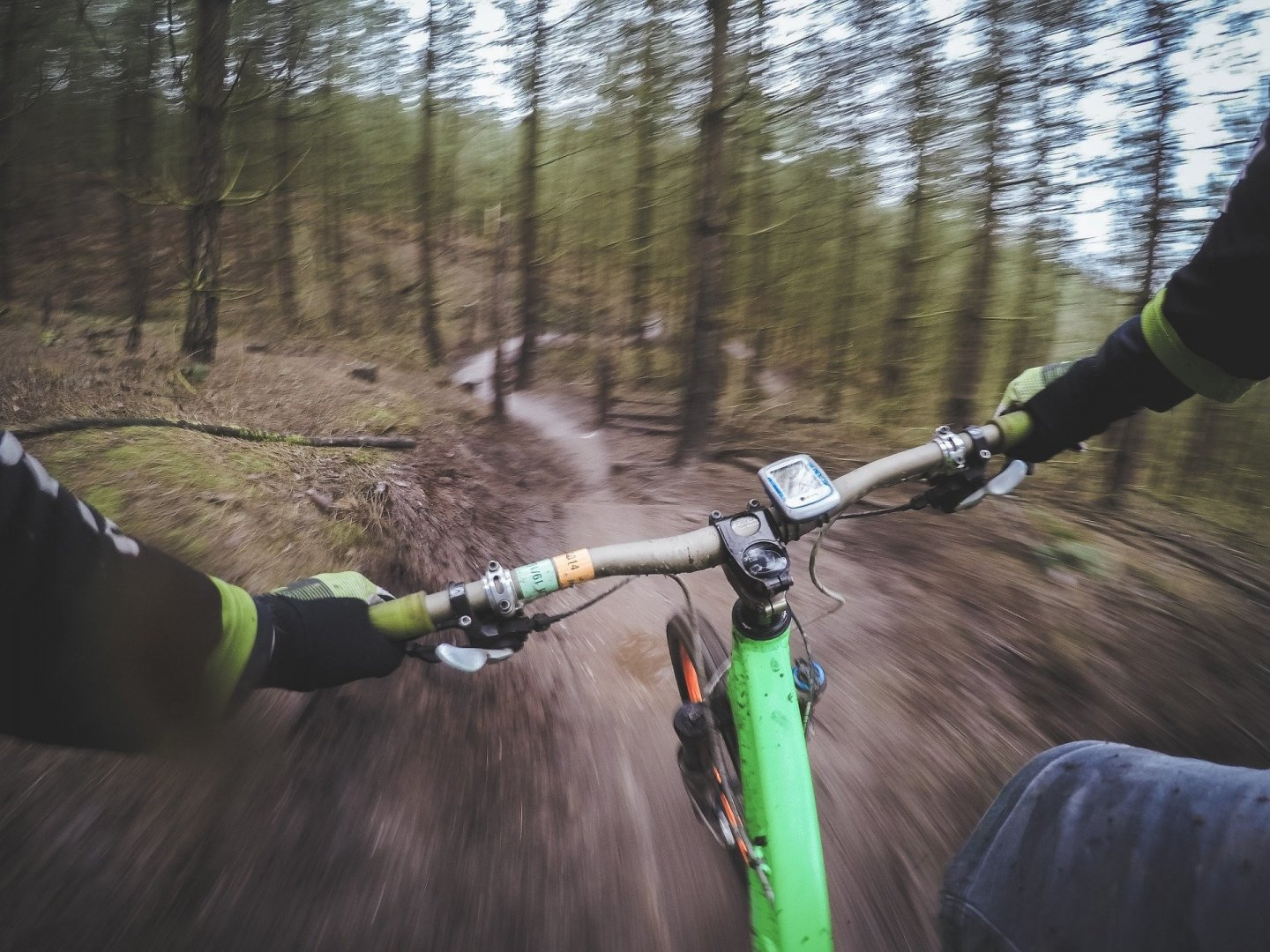 Cycling trails in Poland