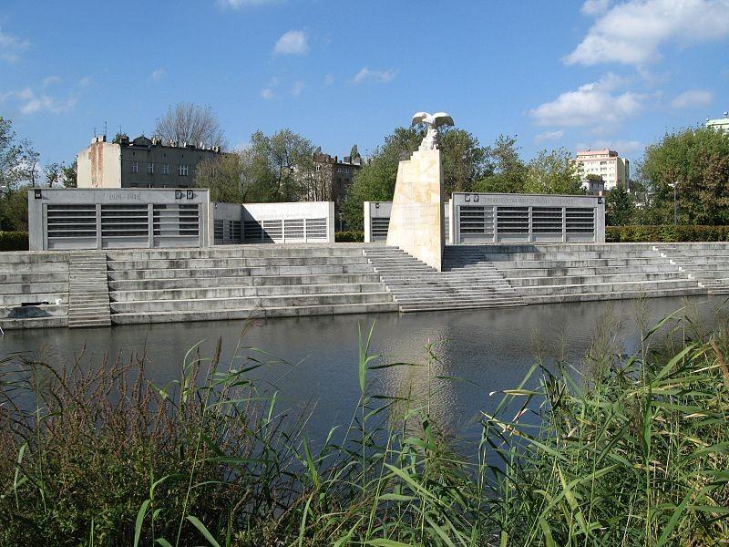 Survivors' Park in Łódź