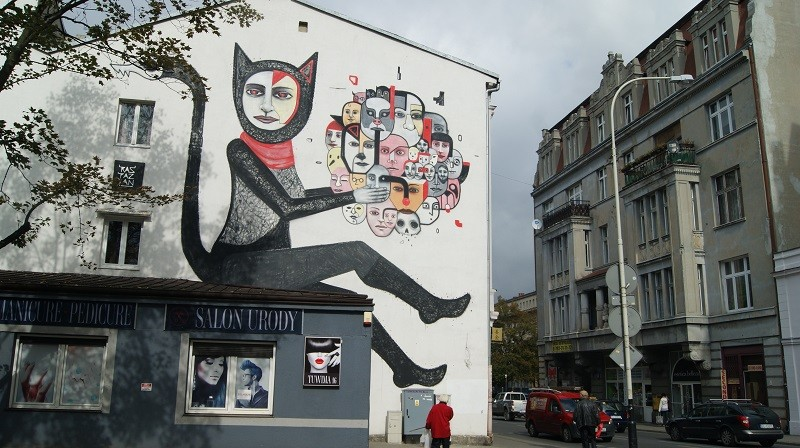 Murals, Łódź