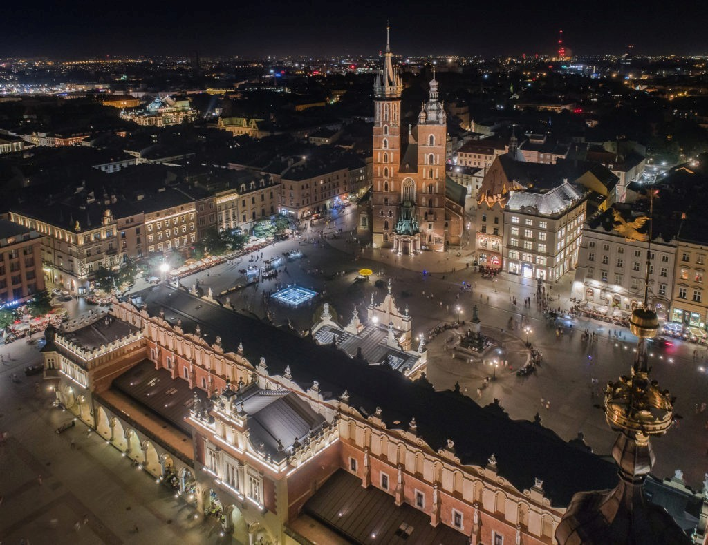 Three 'capitals' of Poland