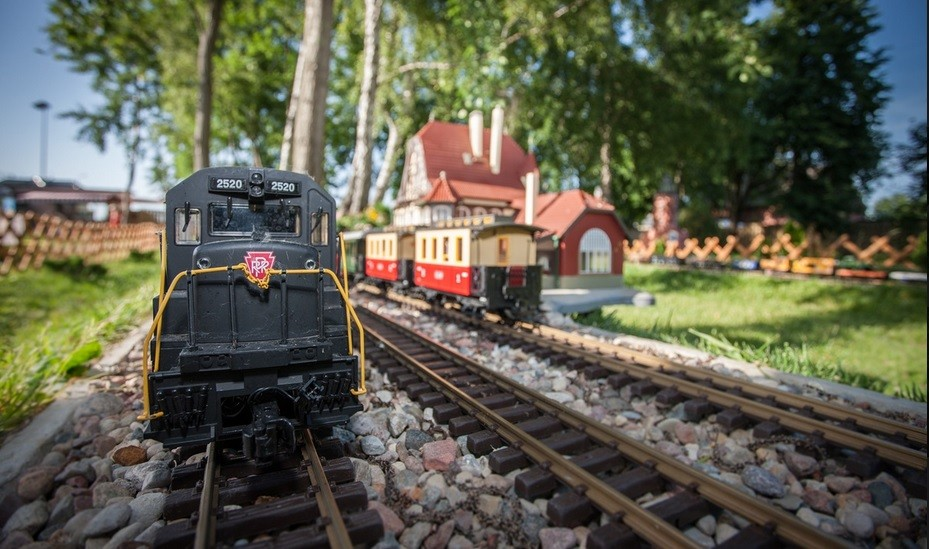 Seaside Miniatures and Trains Park in Dziwnów