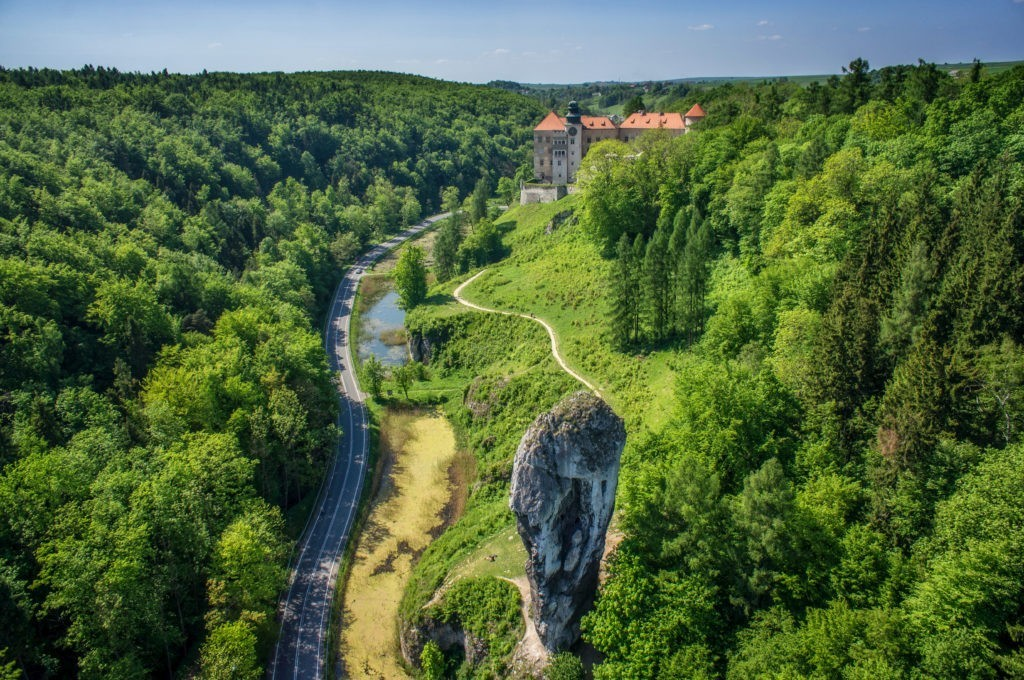Geology course in Ojców National Park