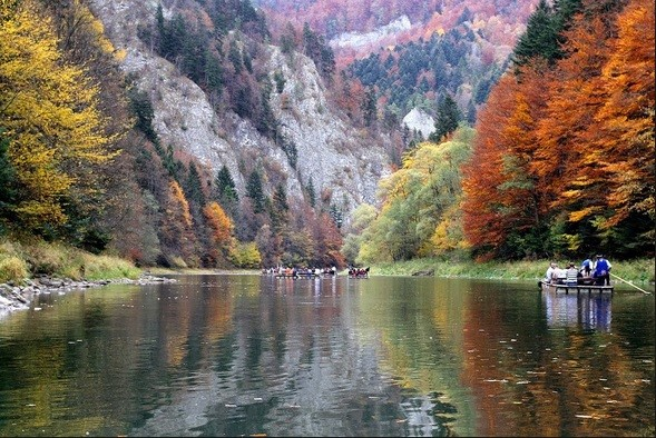Traditional Dunajec Rafting Tour