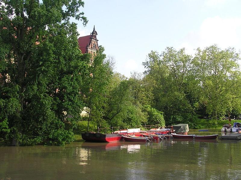 Gondola Bay in Wrocław