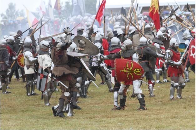Medieval Grunwald battle