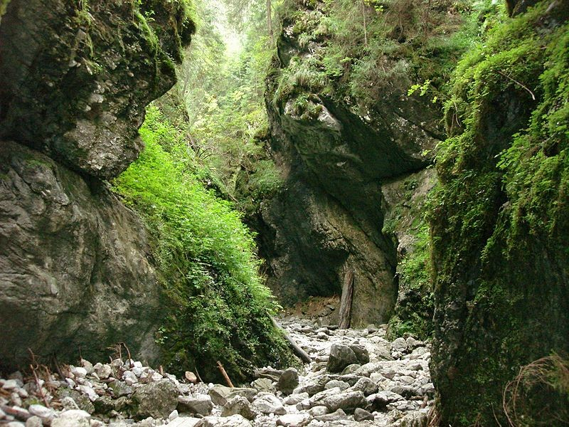 Top gorges, ravines and valleys in Poland