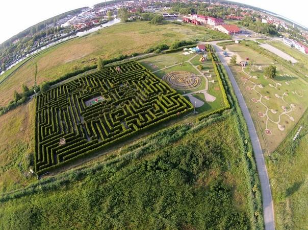 Labyrinth Park, Łeba