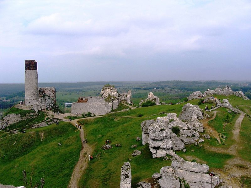 Ruins of the Olsztyn Castle (Silesian Voivodeship)