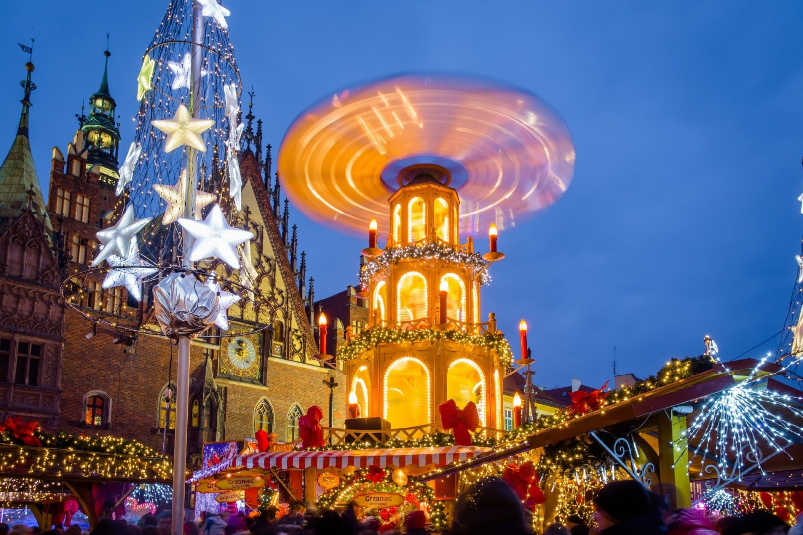Christmas markets in Poland