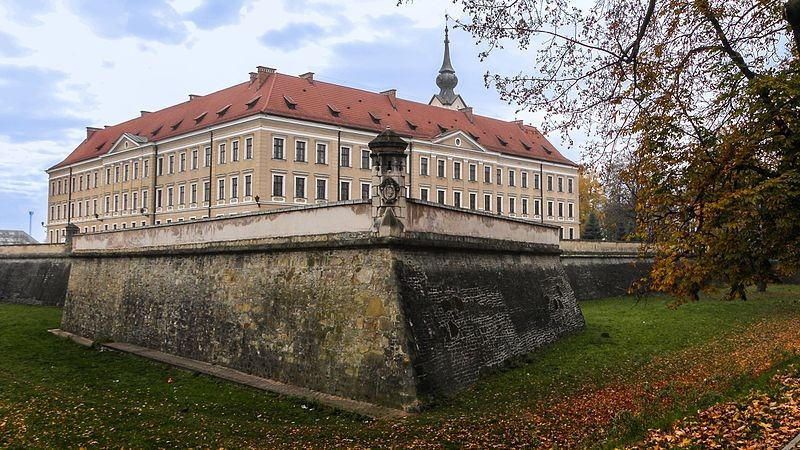 The Lubomirski Castle in Rzeszów