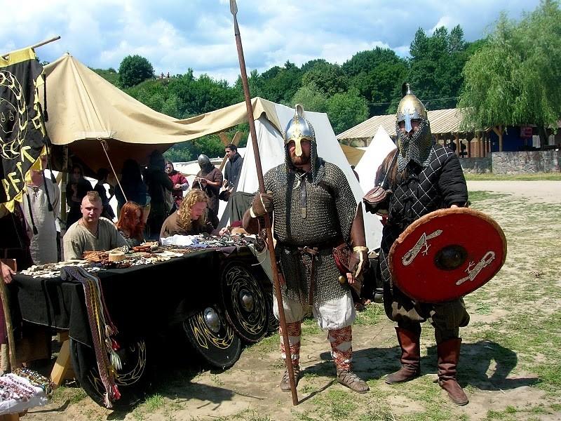 Rally of Balto-Slavic and Viking Warriors