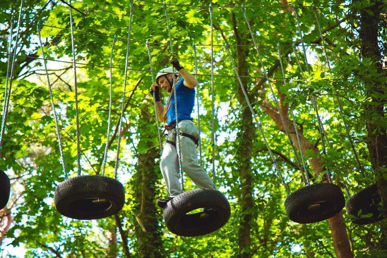 Bluszcz High Rope Course Świnoujście